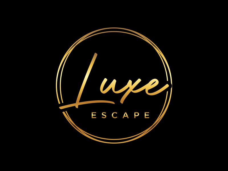 Luxe Escape logo design by mukleyRx