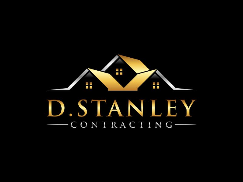 D.Stanley Contracting logo design by mukleyRx