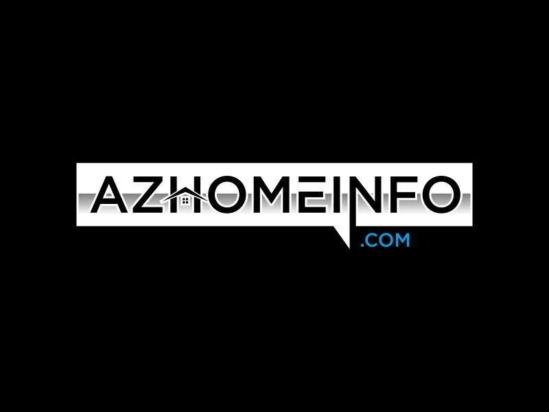 AzHomeInfo.com logo design by GassPoll