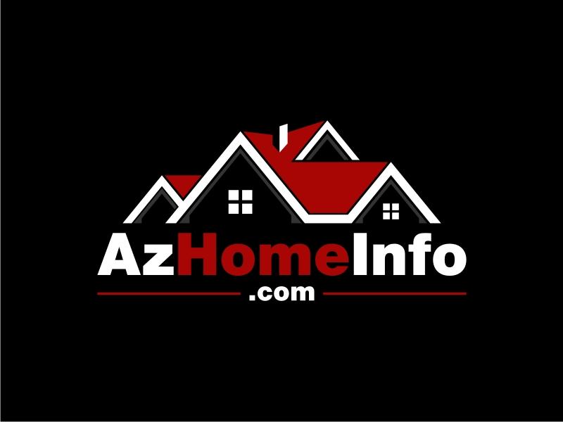 AzHomeInfo.com logo design by GemahRipah
