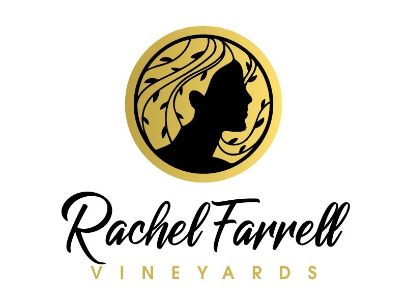 Rachel Farrell Vineyards logo design by JessicaLopes