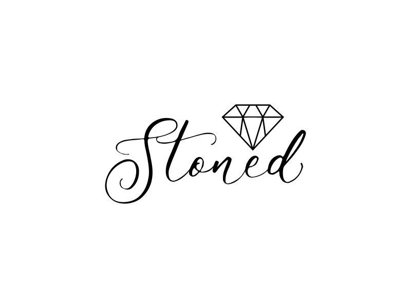 Stoned logo design by dewipadi