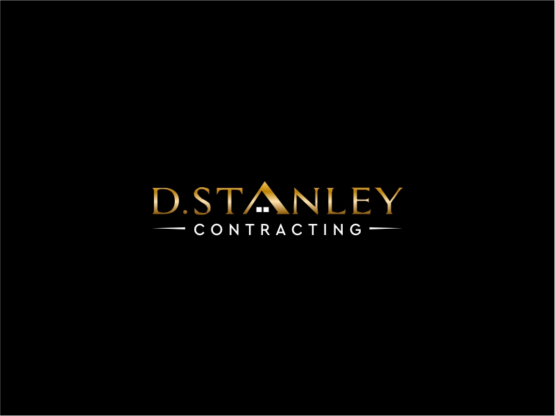 D.Stanley Contracting logo design by decade