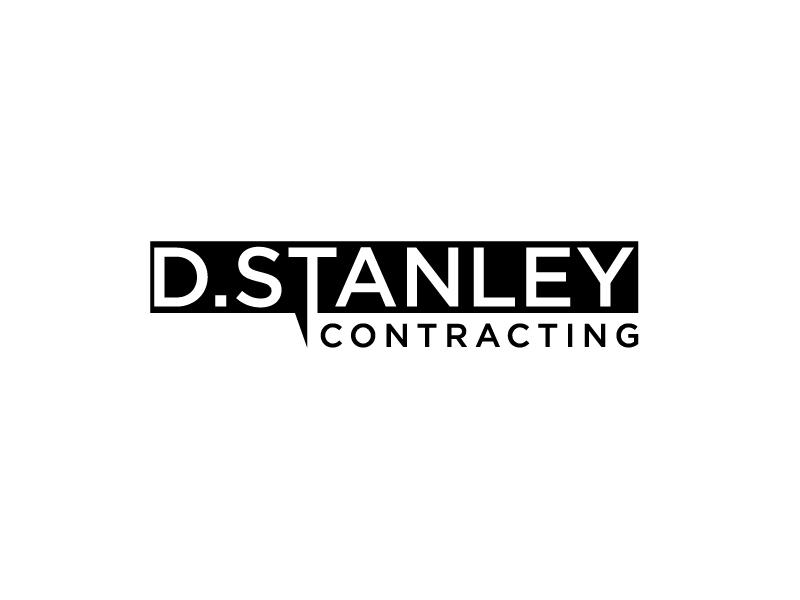 D.Stanley Contracting logo design by bigboss