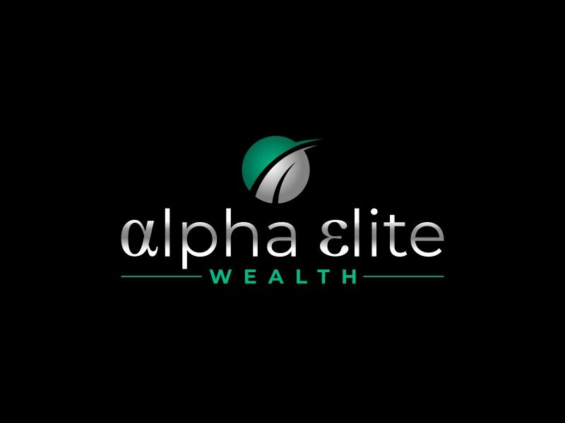 Alpha Elite Wealth logo design by ingepro