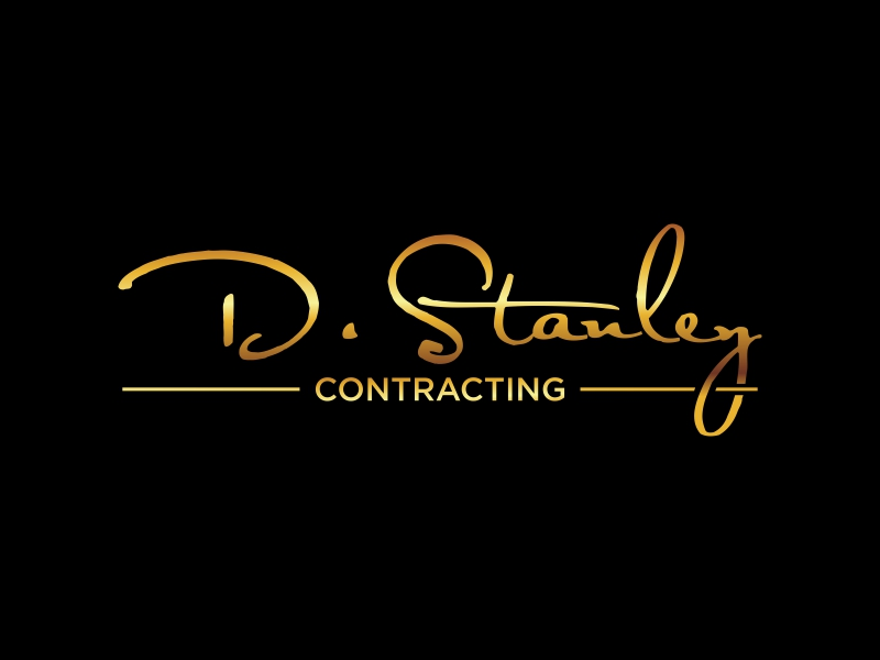 D.Stanley Contracting logo design by qqdesigns