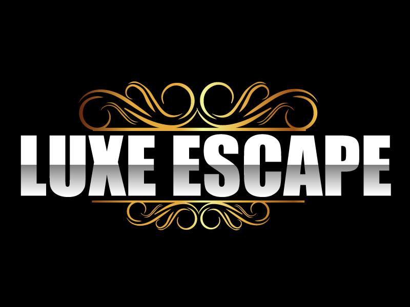 Luxe Escape logo design by ElonStark