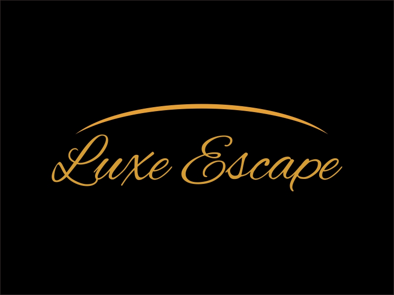 Luxe Escape logo design by sikas