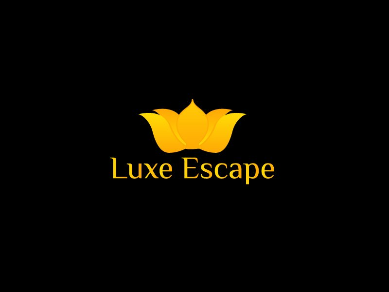 Luxe Escape logo design by Marianne