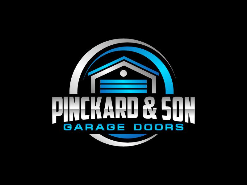 Pinckard & Son Garage Doors logo design by CreativeKiller
