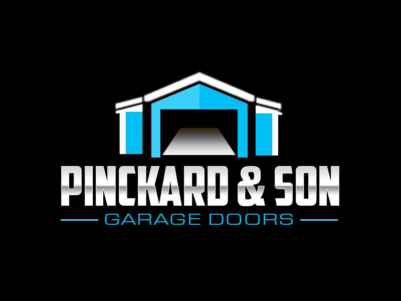 Pinckard & Son Garage Doors logo design by kunejo