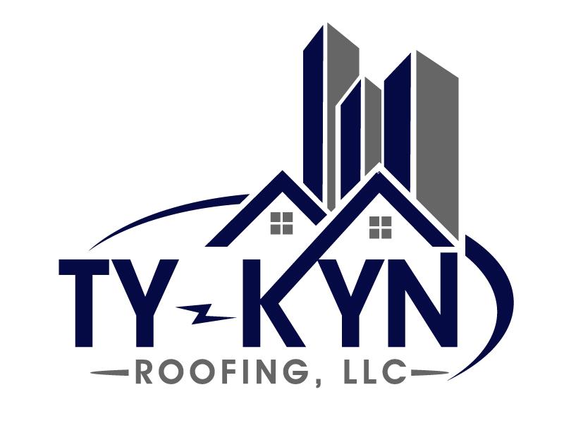 Ty-Kyn Roofing, LLC. logo design by PMG