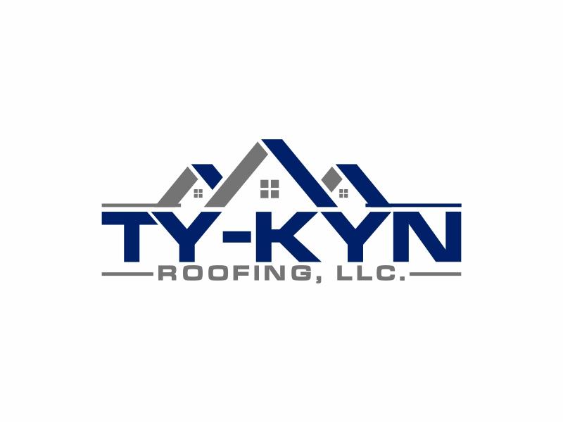 Ty-Kyn Roofing, LLC. logo design by mutafailan