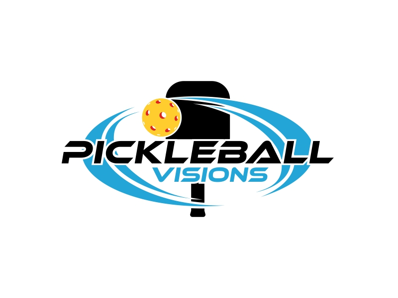 Pickleball Visions logo design by sergi