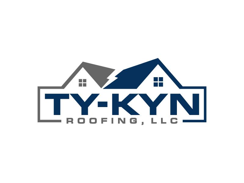 Ty-Kyn Roofing, LLC. logo design by denfransko