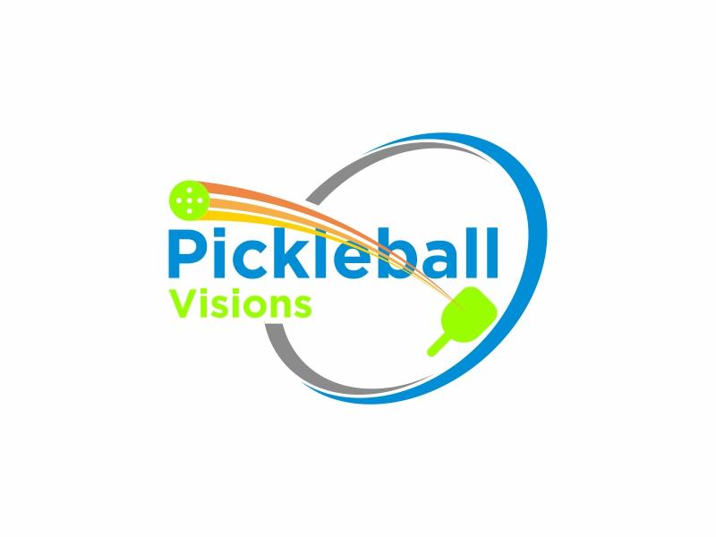 Pickleball Visions logo design by banaspati