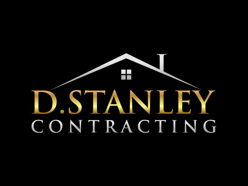 D.Stanley Contracting logo design by zonpipo1
