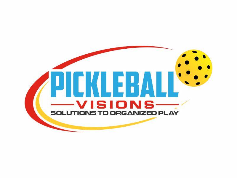 Pickleball Visions logo design by zonpipo1