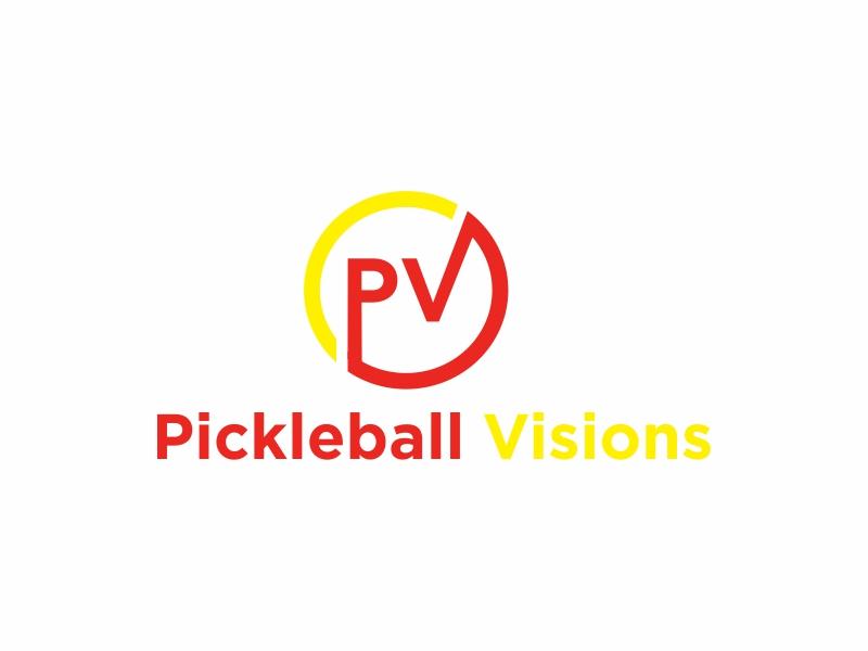 Pickleball Visions logo design by Greenlight