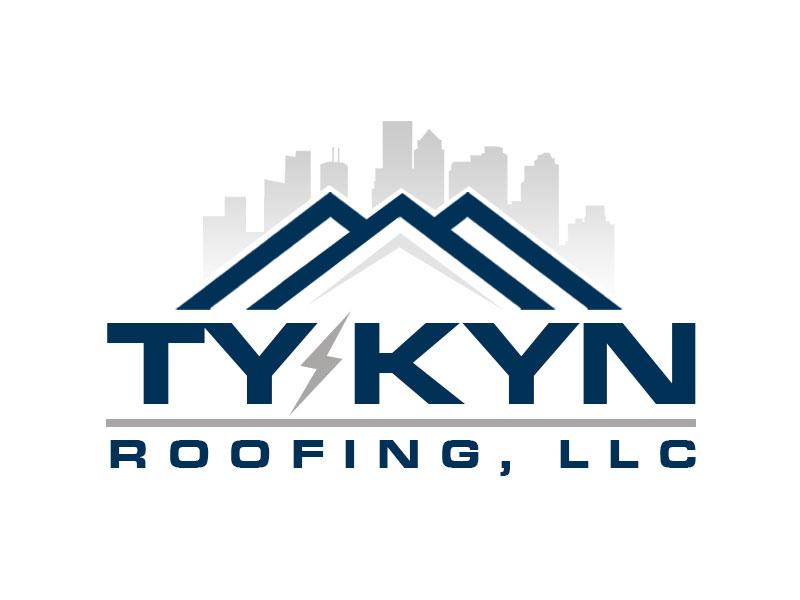 Ty-Kyn Roofing, LLC. logo design by kunejo