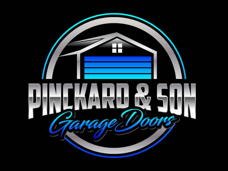 Pinckard & Son Garage Doors logo design by jaize