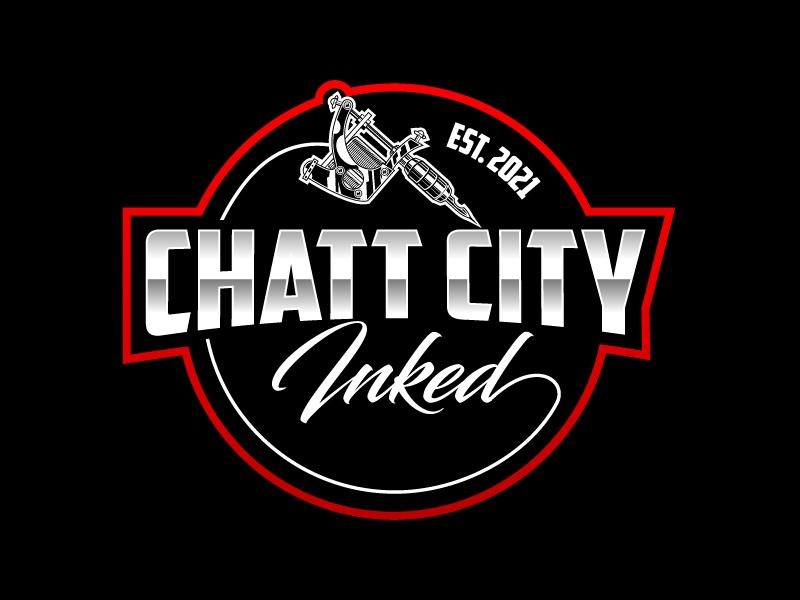 Chatt City Inked logo design by sakarep