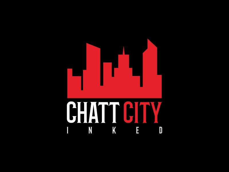 Chatt City Inked logo design by luckyprasetyo