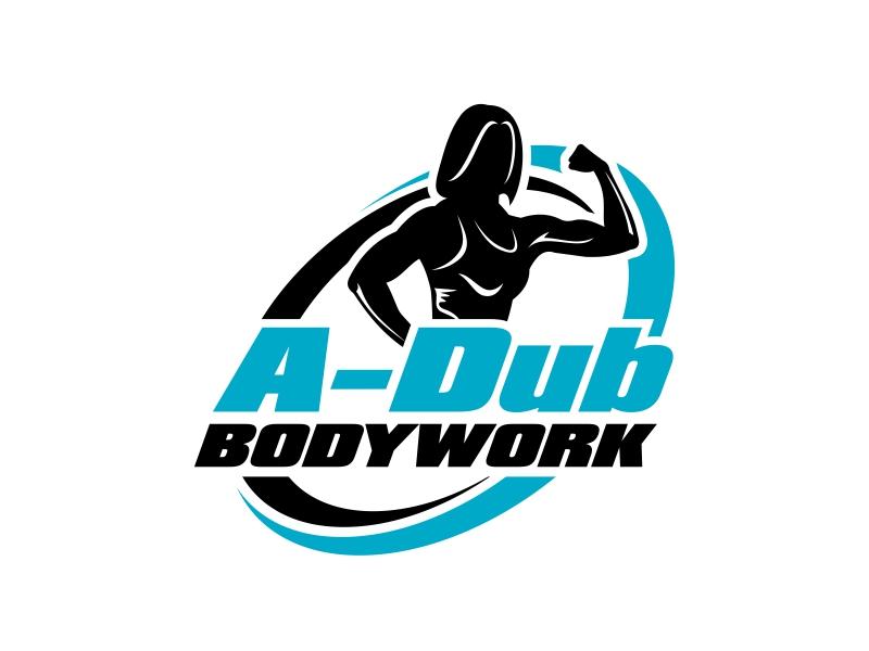 A-Dub Bodywork logo design by ingepro