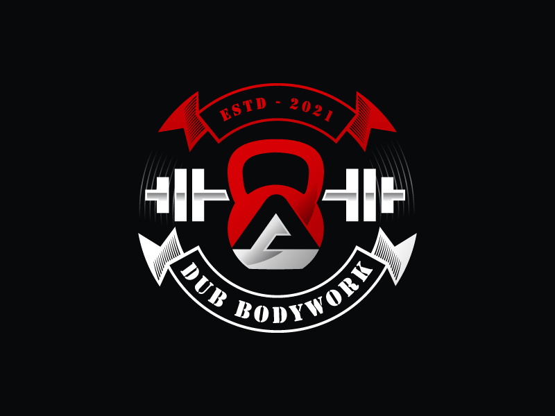 A-Dub Bodywork logo design by sanworks