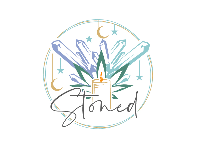 Stoned logo design by aRBy