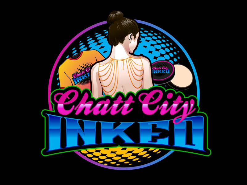 Chatt City Inked logo design by DreamLogoDesign