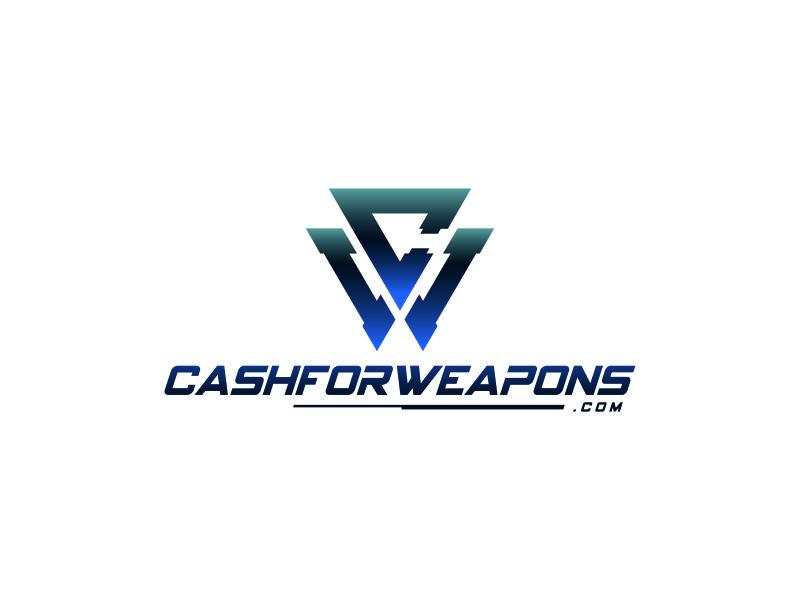 CashforWeapons.com logo design by Naan8