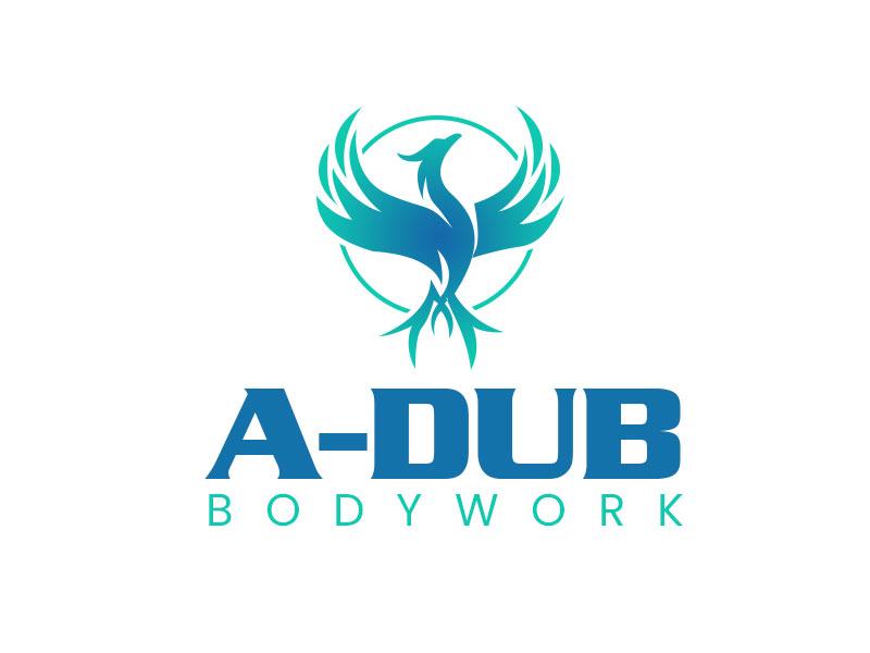 A-Dub Bodywork logo design by kunejo