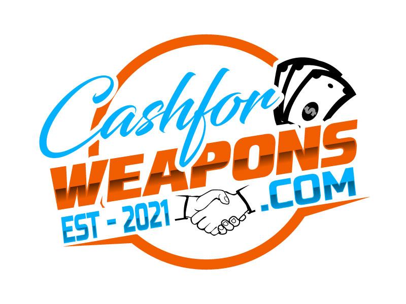 CashforWeapons.com logo design by Suvendu