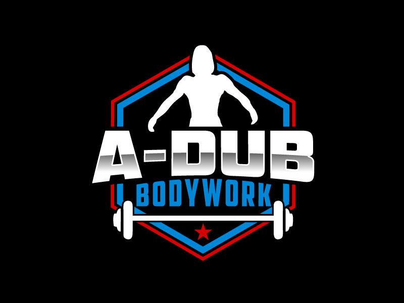 A-Dub Bodywork logo design by Pintu Das