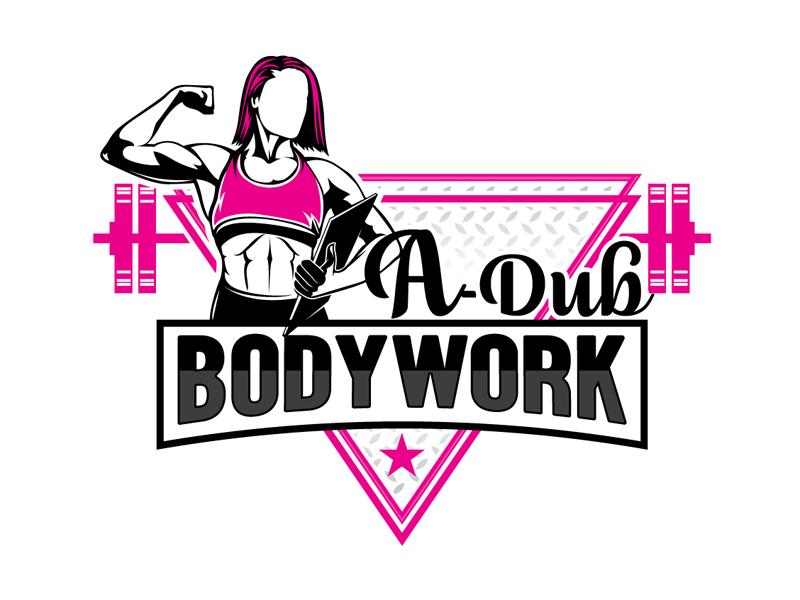 A-Dub Bodywork logo design by DreamLogoDesign