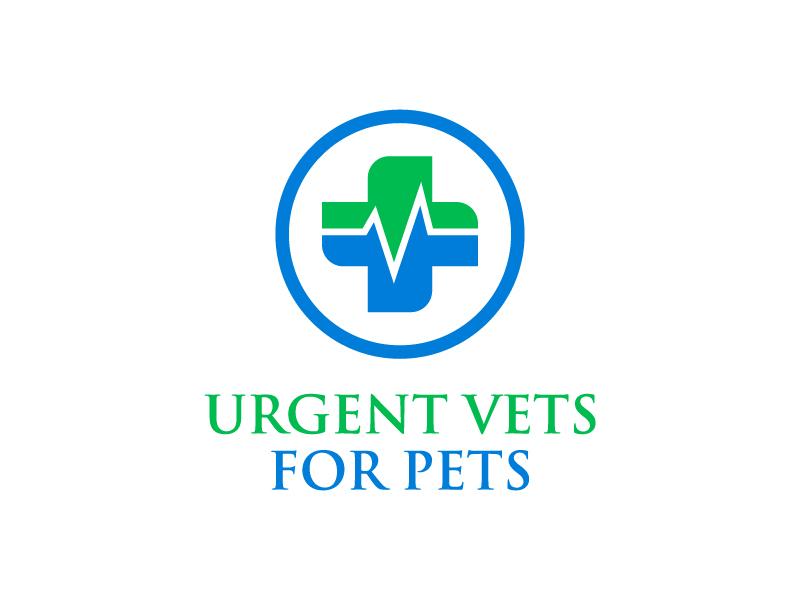 Urgent Vets For Pets Logo Design