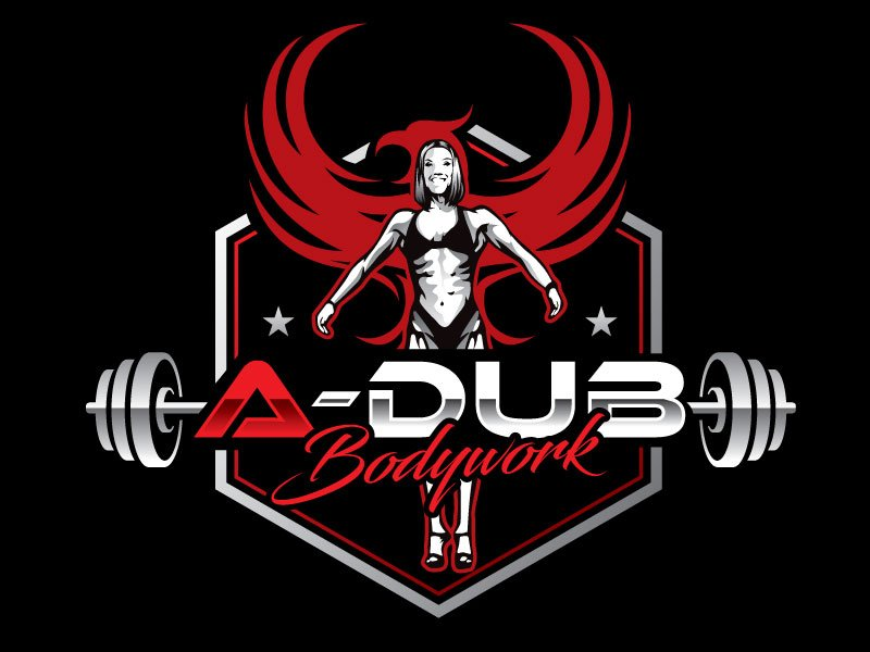 A-Dub Bodywork logo design by REDCROW