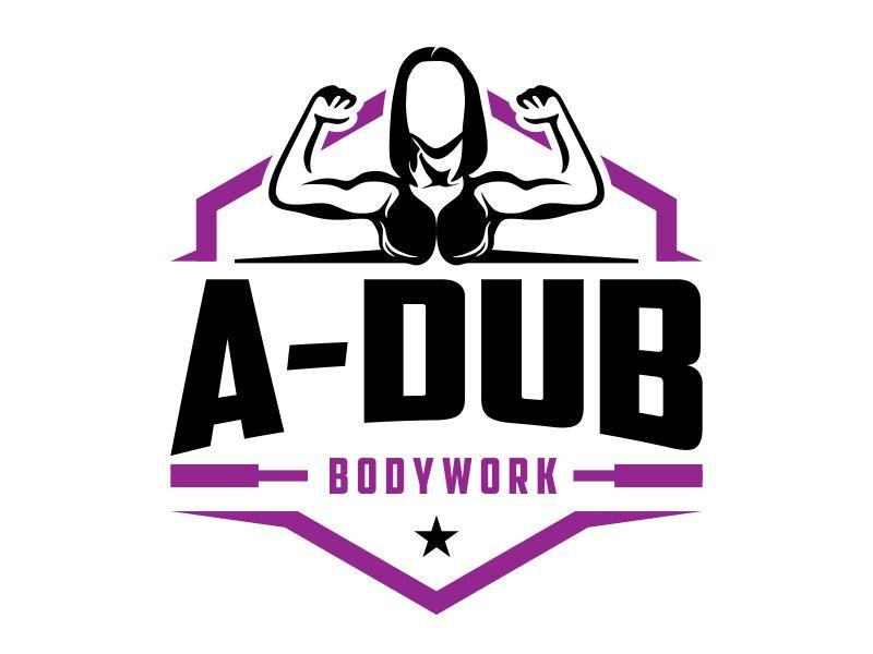 A-Dub Bodywork logo design by kopipanas