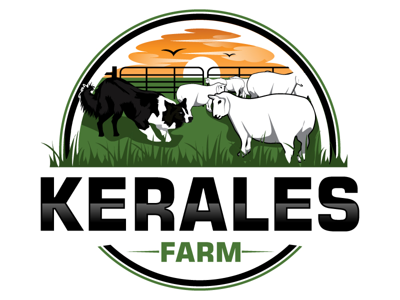 Kerales Farm logo design by Suvendu
