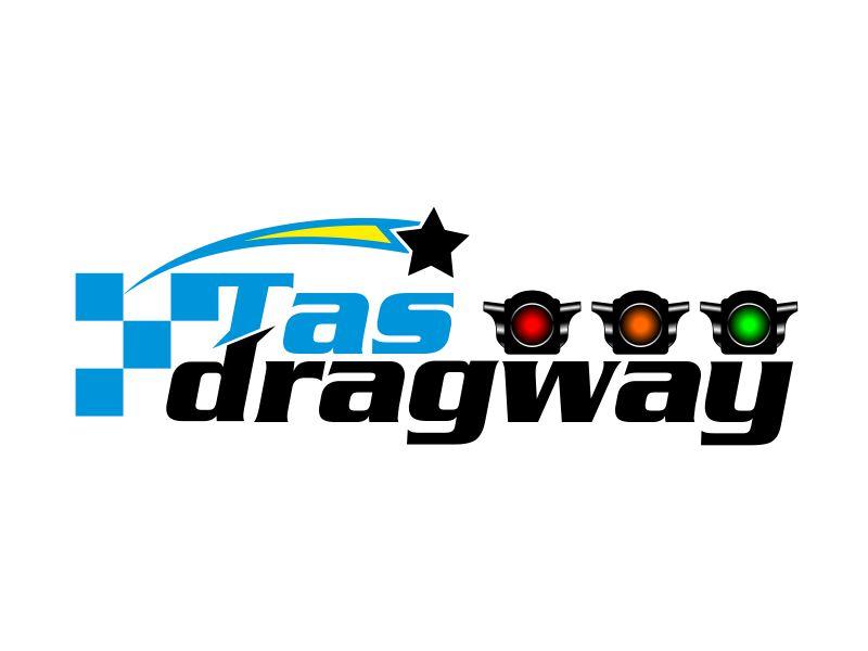 Tas dragway logo design by kopipanas