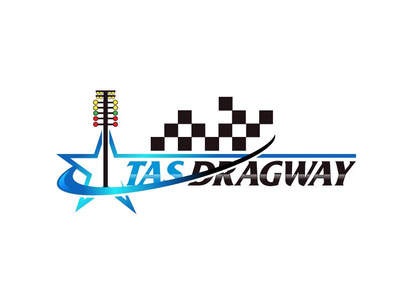Tas dragway logo design by LogoInvent