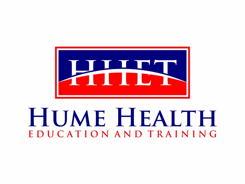 Hume Health Education and Training logo design by puthreeone