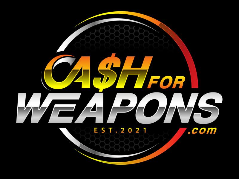 CashforWeapons.com logo design by DreamLogoDesign