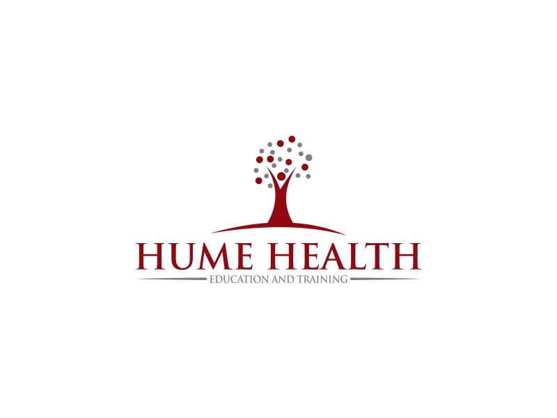 Hume Health Education and Training logo design by luckyprasetyo