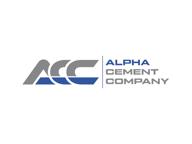 Alpha Cement Company logo design by Erasedink