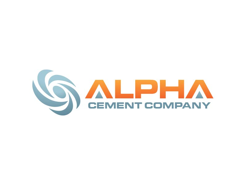 Alpha Cement Company logo design by usef44