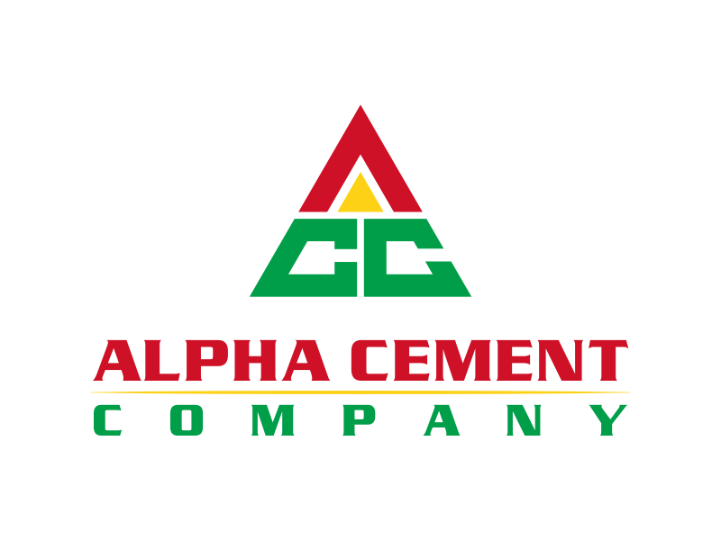 Alpha Cement Company logo design by pionsign