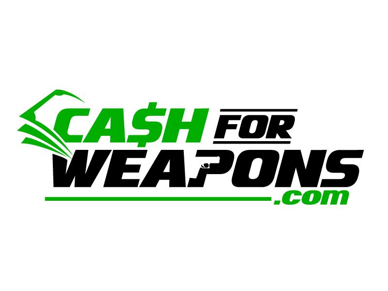 CashforWeapons.com Logo Design
