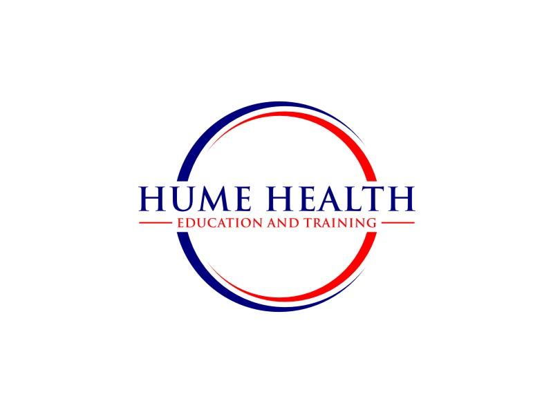 Hume Health Education and Training logo design by johana